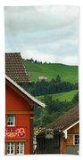Hotel Santis And Hillside Of Appenzell Switzerland Bath Towel