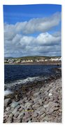 Village By The Sea - County Kerry - Ireland Hand Towel