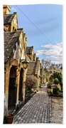 Village Of Winchcombe Bath Towel
