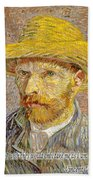 Vincent Van Gogh Quotes 6 Bath Towel