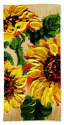 Vincent Van Gogh Would Cry  Bath Towel