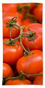 Vine Tomato Bath Towel