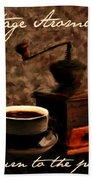 Vintage Aroma Bath Towel