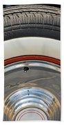 Vintage Automobile Tire Bath Towel