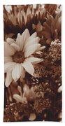 Vintage Bouquet Bath Towel
