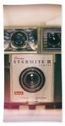 Vintage Brownie Starmite Camera Bath Towel