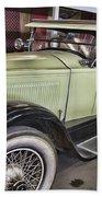 Vintage Bugatti  Bath Towel