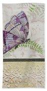 Vintage Butterfly-jp2568 Bath Towel
