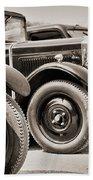 Vintage Cars Bath Towel