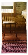 Vintage Chair And Table Bath Towel