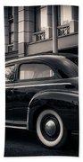 Vintage Chevrolet In 1934 New York City Hand Towel