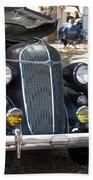 Vintage Chrysler Automobile Poster Look IIi Usa Bath Towel