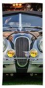 Vintage Jaguar -0924c Bath Towel