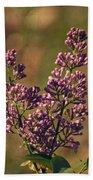 Vintage Lilac Bath Towel