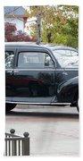 Vintage Lincoln Limo 1941 Bath Towel