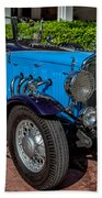 Vintage Peugeot 201 Bath Towel