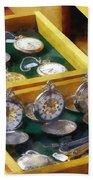 Vintage Pocket Watches For Sale Bath Towel