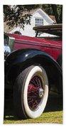 Vintage Rolls Royce Phantom Bath Towel