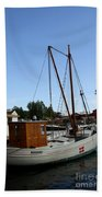 Vintage Sailing Boat - Ct Bath Towel
