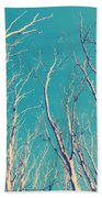 Vintage Trees Bath Towel