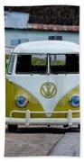Vintage Volkswagen Bus Bath Towel