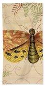 Vintage Wings-paris-c Bath Towel