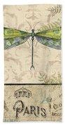 Vintage Wings-paris-g Bath Towel