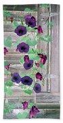 Violet Vine - Photopower 324 Bath Towel