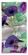 Violet Vine - Photopower 326 Bath Towel