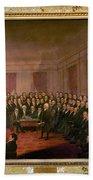 Virginia Convention 1829 Bath Towel