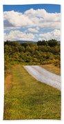 Yesterday - Virginia Country Road Bath Towel