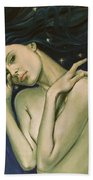 Virgo  From Zodiac Series Bath Towel