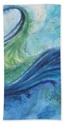 Peacock Vision In The Mist Bath Towel