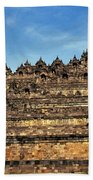 Vivid Borobudur Bath Towel
