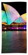 Vivid Sydney 2014 - Opera House 1 By Kaye Menner Bath Towel