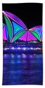 Vivid Sydney By Kaye Menner - Opera House... Patterns 2 Bath Towel