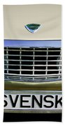 Volvo Grille Emblem -0198c Bath Towel