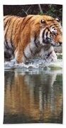 Wading Tiger Bath Towel