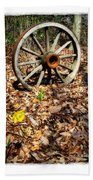 Wagon Wheel Daffodil Hand Towel