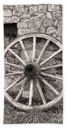 Wagon Wheel Bath Towel