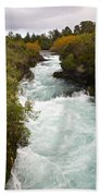 Waikato River Huka Falls Bath Towel