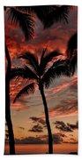 Waikiki Sunset Bath Towel
