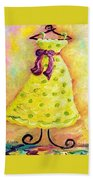 Waiting For Summer - Impressionism Bath Towel