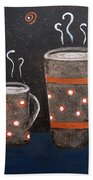Wake Up And Smell The Coffee Hand Towel