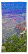 Walhala Overlook On North Rim Of Grand Canyon-arizona  Bath Towel