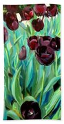 Walk Among The Tulips Bath Towel