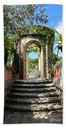 Walk In Vizcaya Gardens Bath Towel