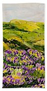Walking Hills Bath Towel