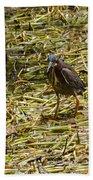 Walking On The Reeds Bath Towel