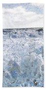 Walking On Water I Hand Towel by Kevyn Bashore